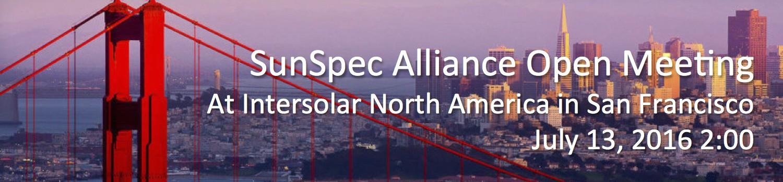 SunSpec Alliance Open Meeting at Intersolar North America