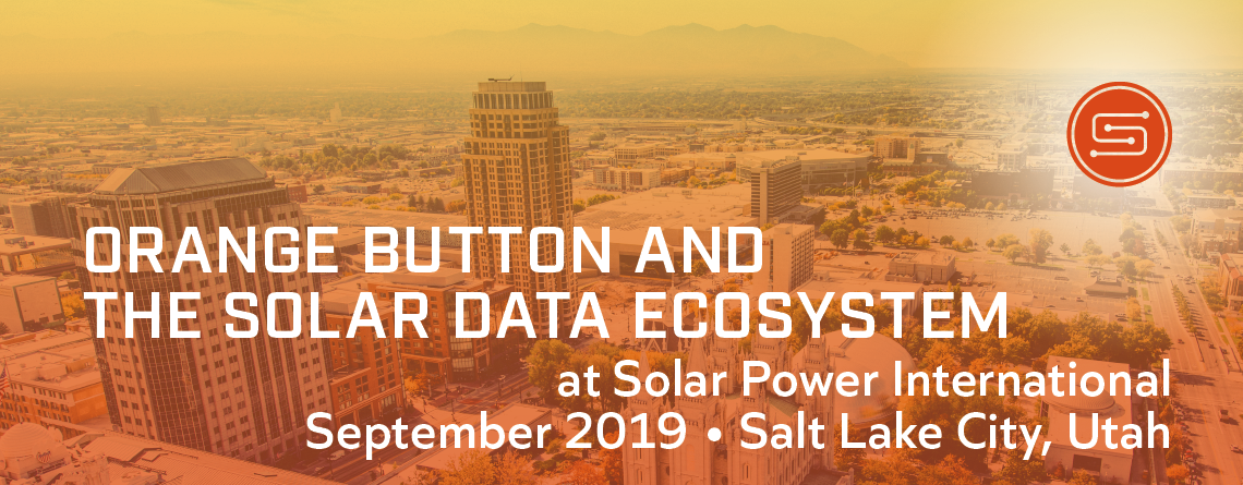 Orange Button at Solar Power International image