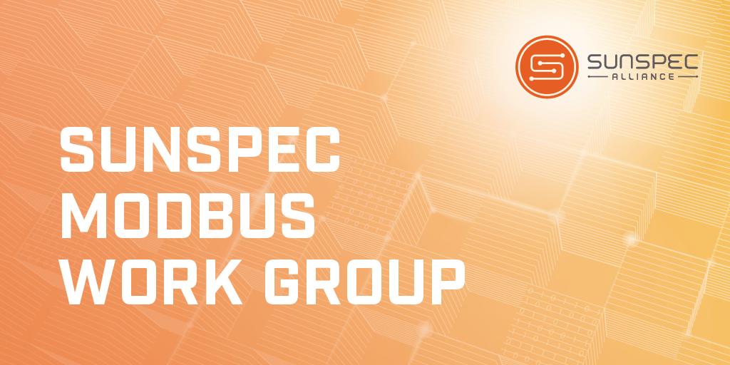 SunSpec Modbus Work Group Twitter image