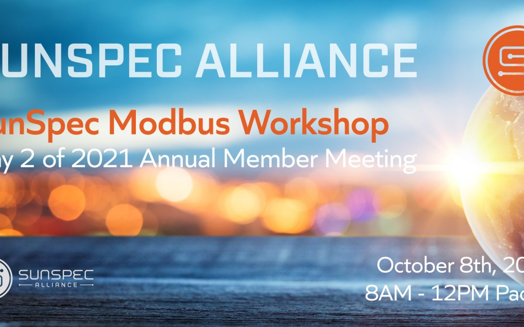 2021 Annual SunSpec Alliance Member Meeting Video Recap