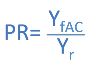 PR ratio