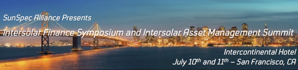 Join us at Intersolar North America 2017