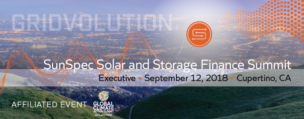 Gridvolution: SunSpec Solar and Storage Finance Summit