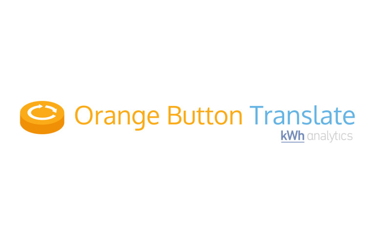 kWh Analytics releases Orange Button Translate software
