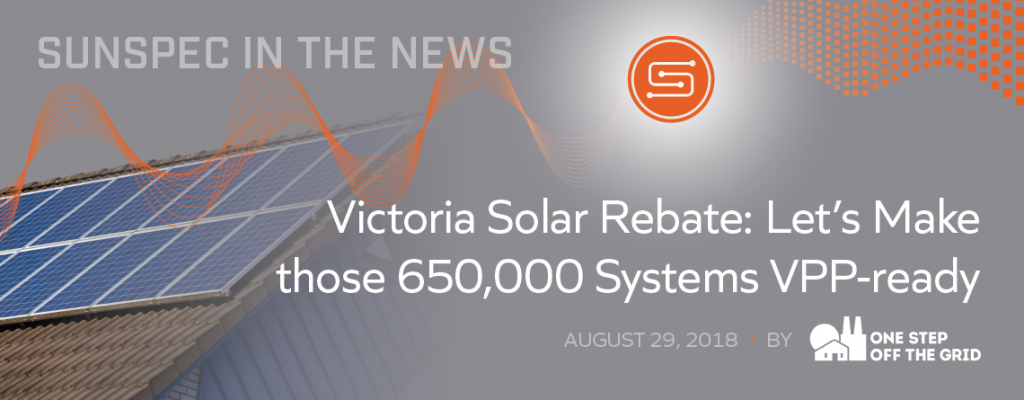 Victoria Solar Rebate: Let's Make Those 650,000 Systems VPP-ready