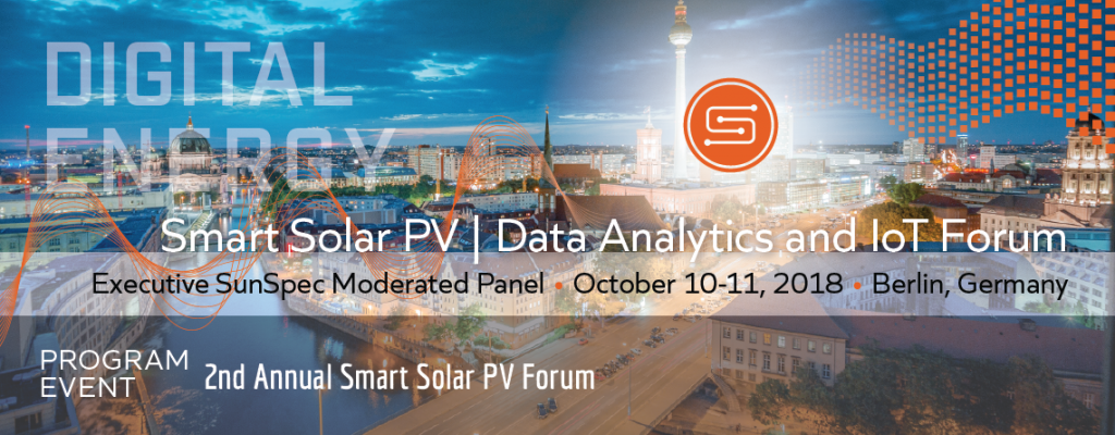 Smart Solar PV | Data Analytics and IoT Forum