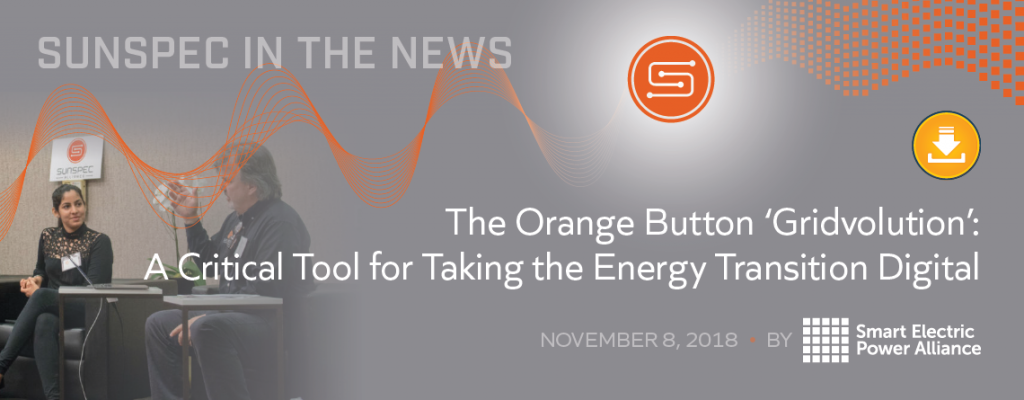 The Orange Button 'Gridvolution': A Critical Tool for Taking the Energy Transition Digital