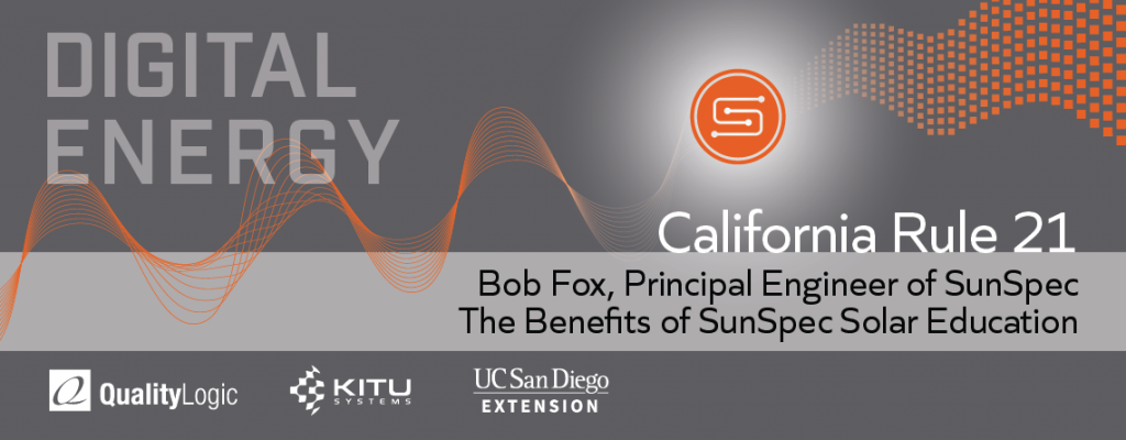 Meet the Instructor: Bob Fox, Principal Engineer of SunSpec