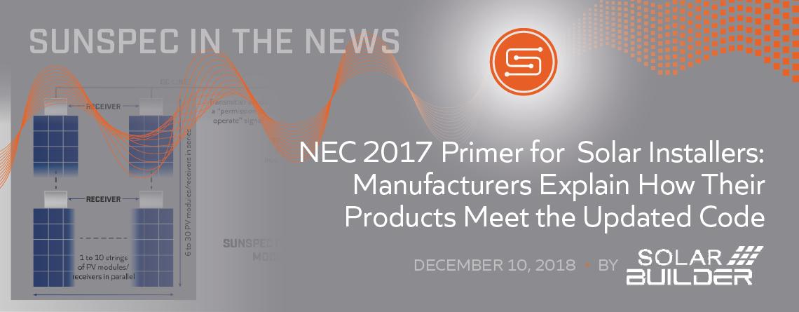 NEC 2017 Primer for Solar Installers from Solar Builder