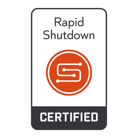 SunSpec Certified Mark Rapid Shutdown