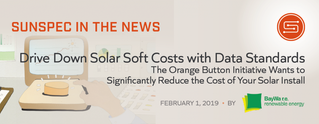 Drive Down Solar Soft Costs with Data Standards