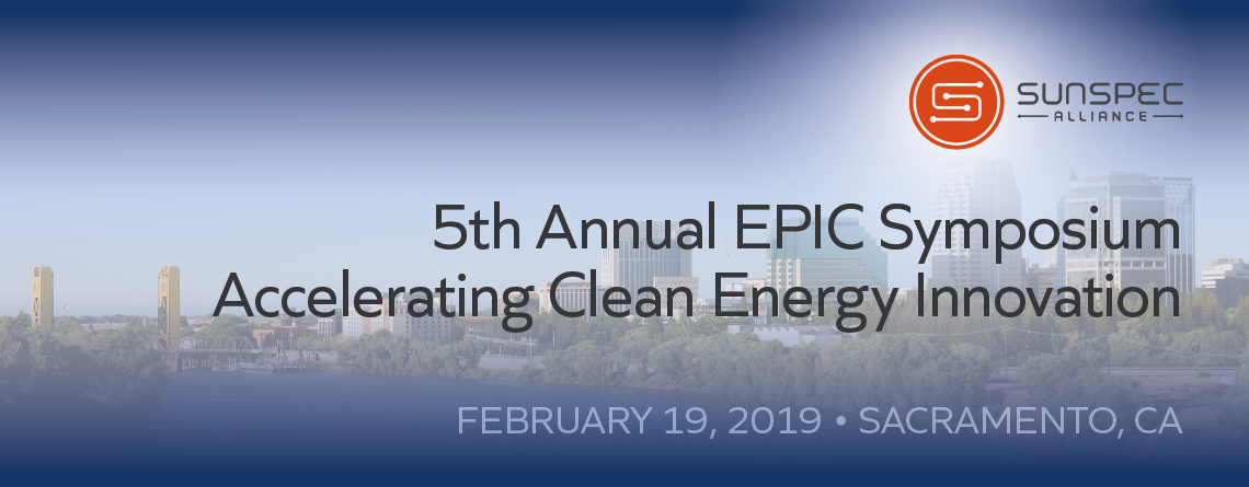 SunSpec 2019 EPIC Symposium image