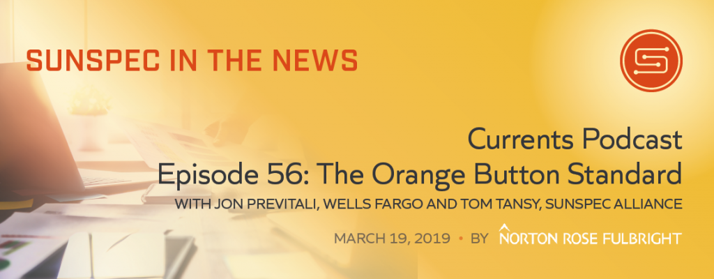 Currents Podcast: The Orange Button Standard