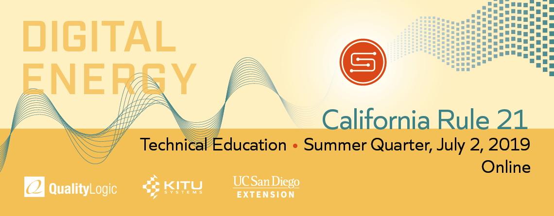 SunSpec UCSD Technical Course Summer 2019 image