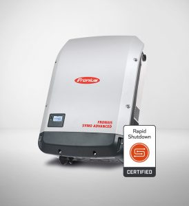 Fronius Symo Rapid Shutdown inverter image