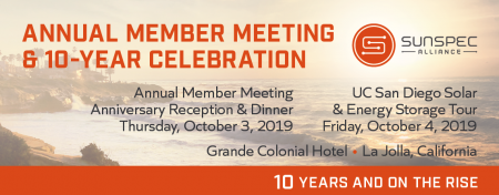 SunSpec Annual Member Meeting 2019 image
