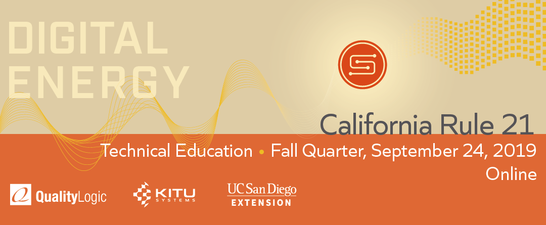 Fall Quarter: Secure Communication Networking for Distributed Energy Resources Online Class