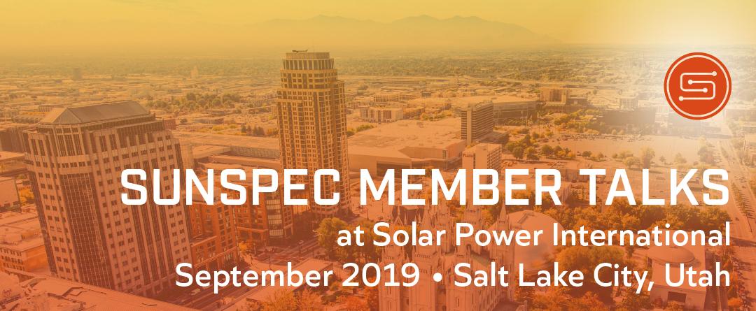 SunSpec Member Talks at SPI