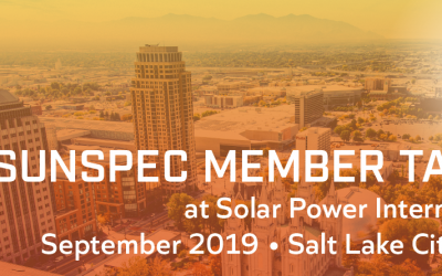 SunSpec Member Talks at SPI