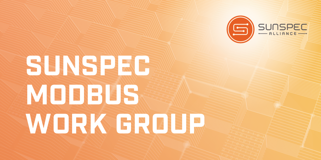 SunSpec Modbus Work Group Twitter image